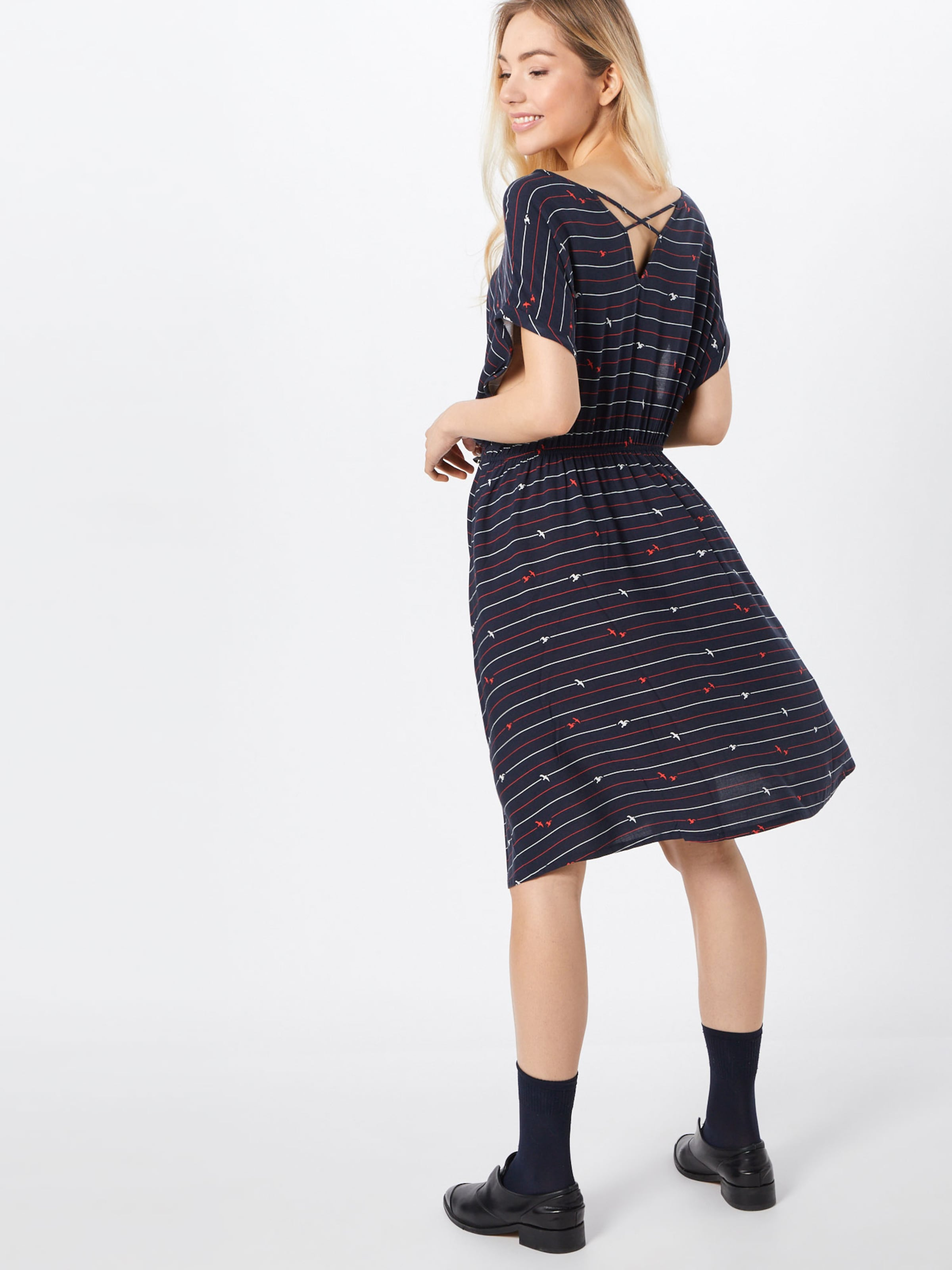 Tailor Bleu En Tom Print Dress' WomenRobe 'casual OuPTkXZi