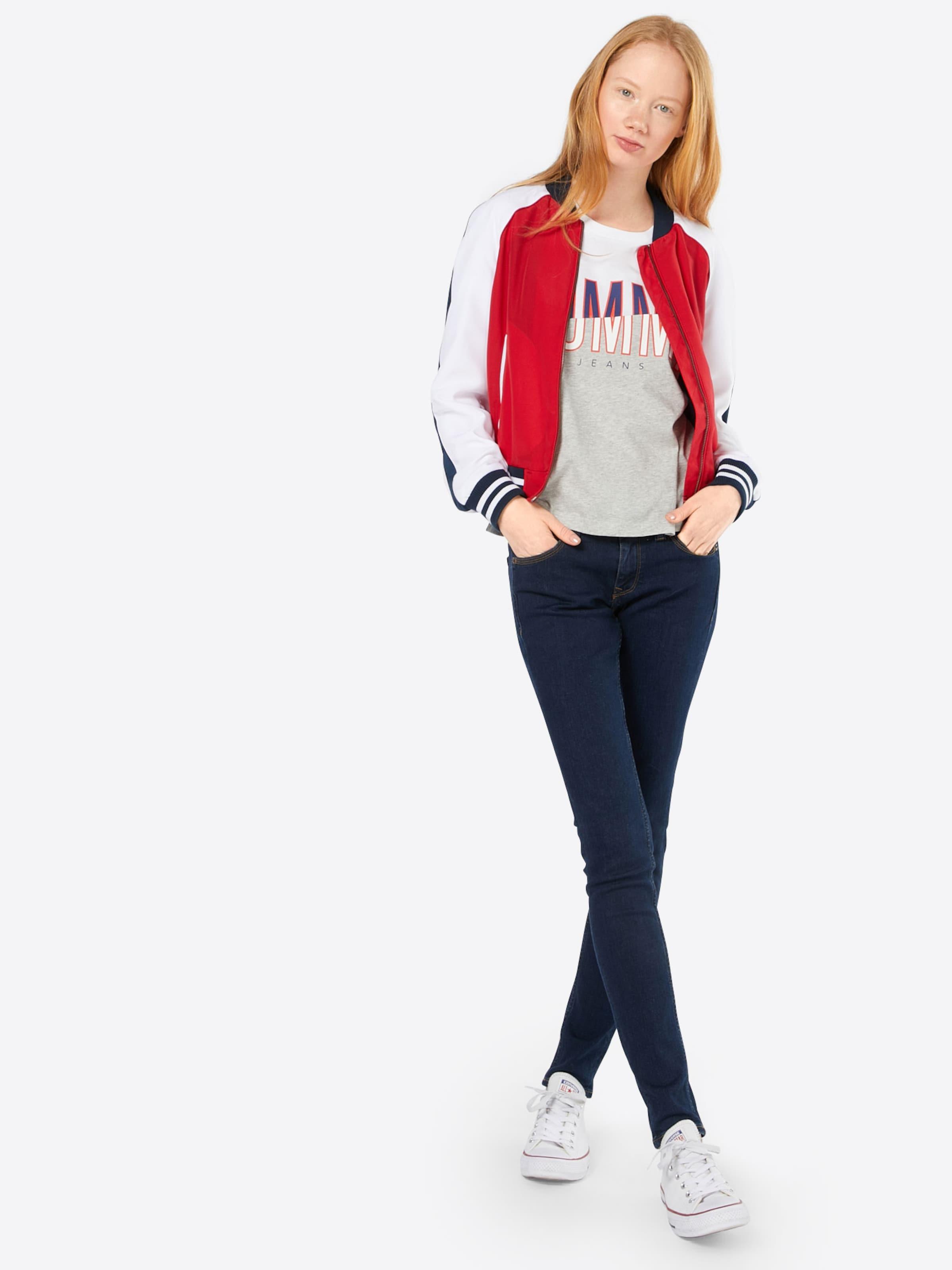 Erkunden Verkauf Online Tommy Jeans Shirt mit Logoprint Billig Bester Verkauf Billig Verkauf Nicekicks JG5Uh1W