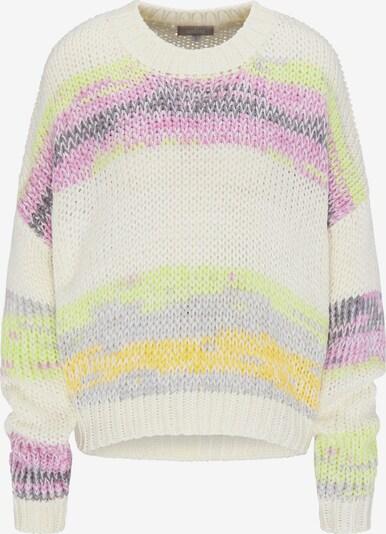 Usha Pullover in mischfarben / wollweiß, Produktansicht