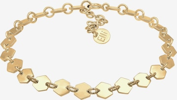 ELLI PREMIUM Armband 'Geo' in Gold