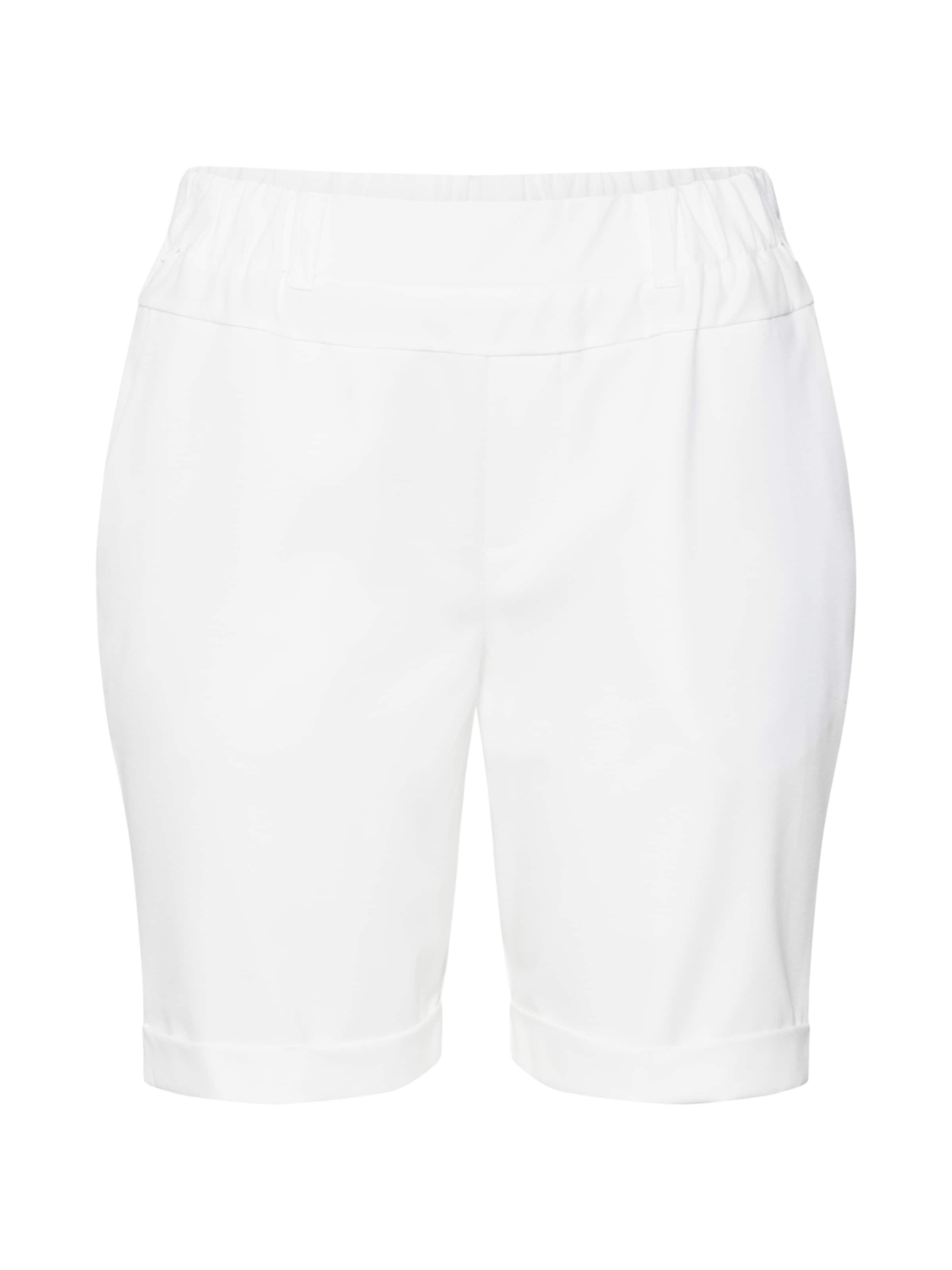Kaffe Hose Jillian Bermuda In Weiß Pants' 'nanci bI76vfygYm