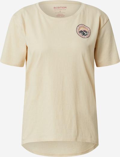 BURTON T-Shirt in beige, Produktansicht
