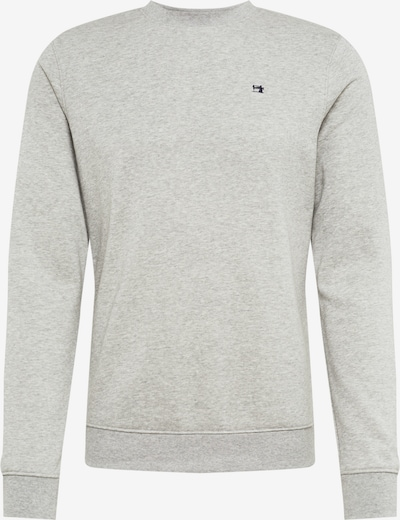 SCOTCH & SODA Sweat-shirt 'Clean sweat' en gris: Vue de face