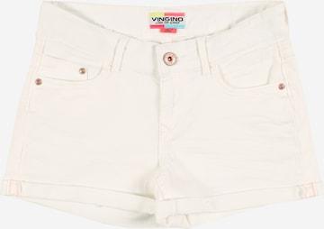 VINGINO Jeans 'Damara' i vit
