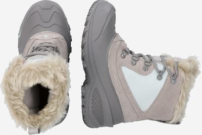 THE NORTH FACE Boots in hellgrau / weiß: Seitenansicht