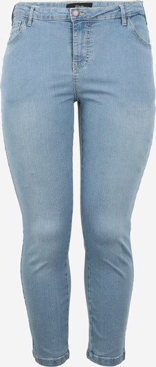 Zizzi Jeans in blue denim, Produktansicht