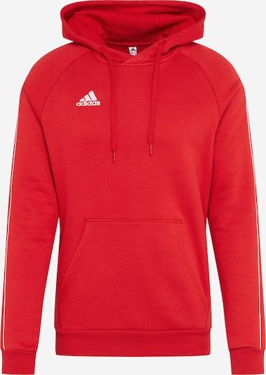 ADIDAS PERFORMANCE Sweatshirt 'Core 18' in hellrot / weiß, Produktansicht