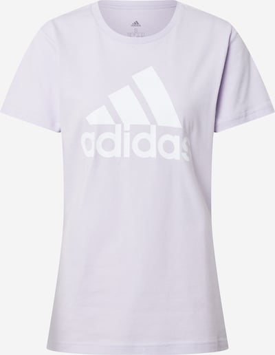 ADIDAS PERFORMANCE Functioneel shirt in de kleur Pastellila / Wit, Productweergave