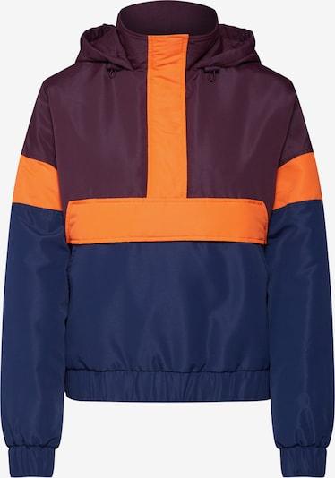 Urban Classics Prechodná bunda - námornícka modrá / vínovo červená / oranžovo červená, Produkt
