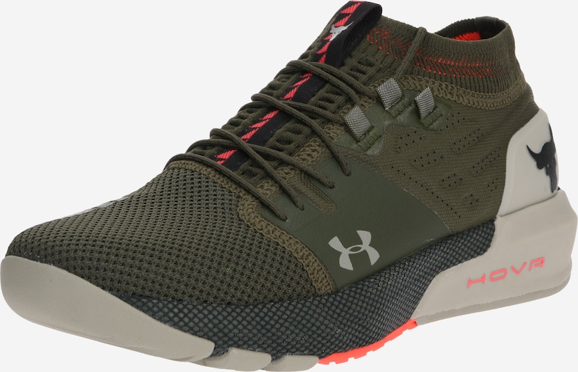 UNDER ARMOUR Sportschoen 'UA Project Rock 2' in de kleur Bruin / Kaki, Productweergave