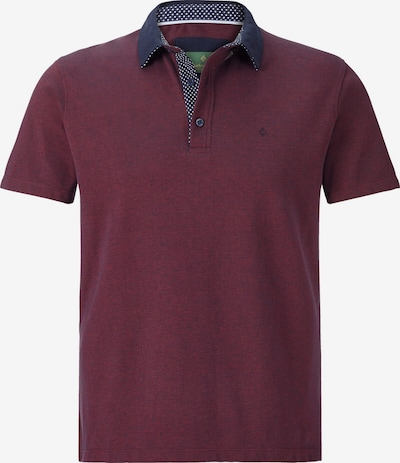 Charles Colby Poloshirt 'Earl Fances' in navy / beere, Produktansicht
