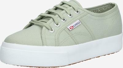 SUPERGA Sneaker in grün / weiß, Produktansicht
