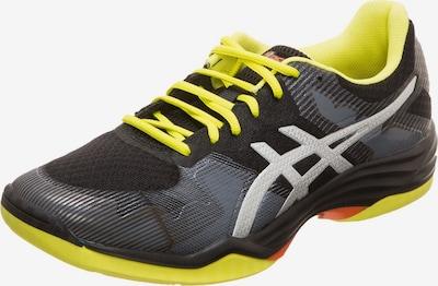 ASICS Handballschuh 'GEL-Tactic' in limone / grau / schwarz, Produktansicht