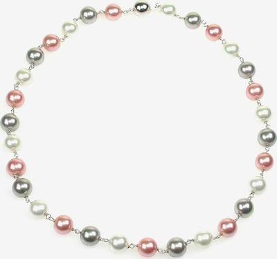 Orquidea Perlenkette 'Anette' in grau / rosa / silber / weiß, Produktansicht