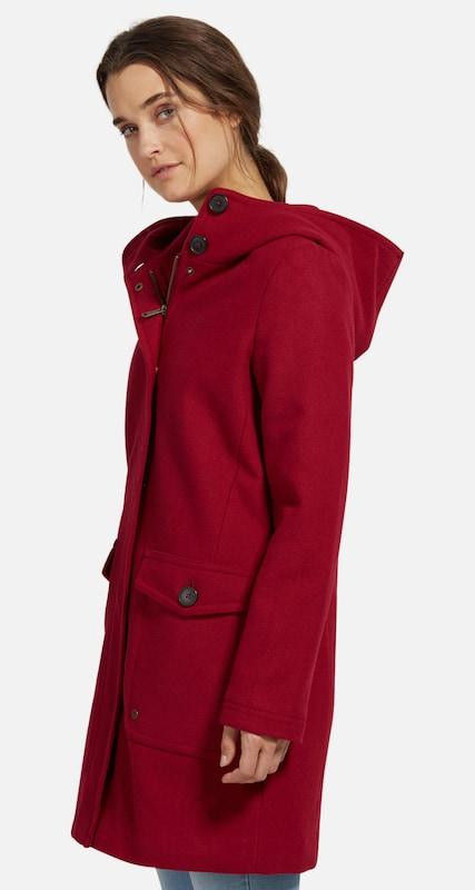 TOM TAILOR Mantel aus Wollgemisch mit Taschen