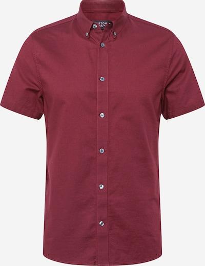 BURTON MENSWEAR LONDON Hemd 'OXFORD' in burgunder, Produktansicht