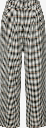 JUST FEMALE Hose 'Holmes wide trousers' in beige / dunkelgrau, Produktansicht