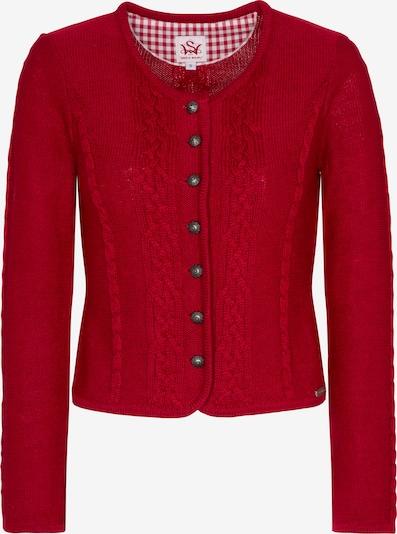 SPIETH & WENSKY Strickjacke 'Bonn' in rot, Produktansicht