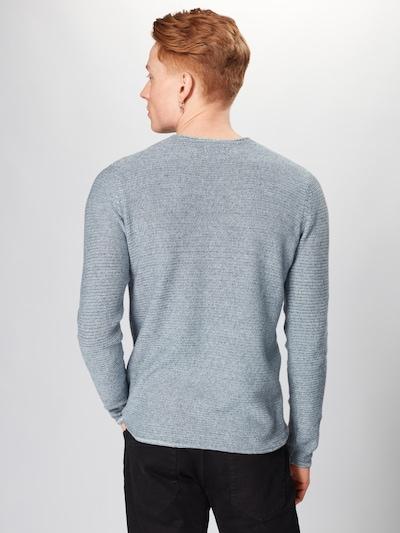 Megztinis 'COLLIN 7' iš Only & Sons , spalva - mėlyna dūmų spalva: Vaizdas iš galinės pusės
