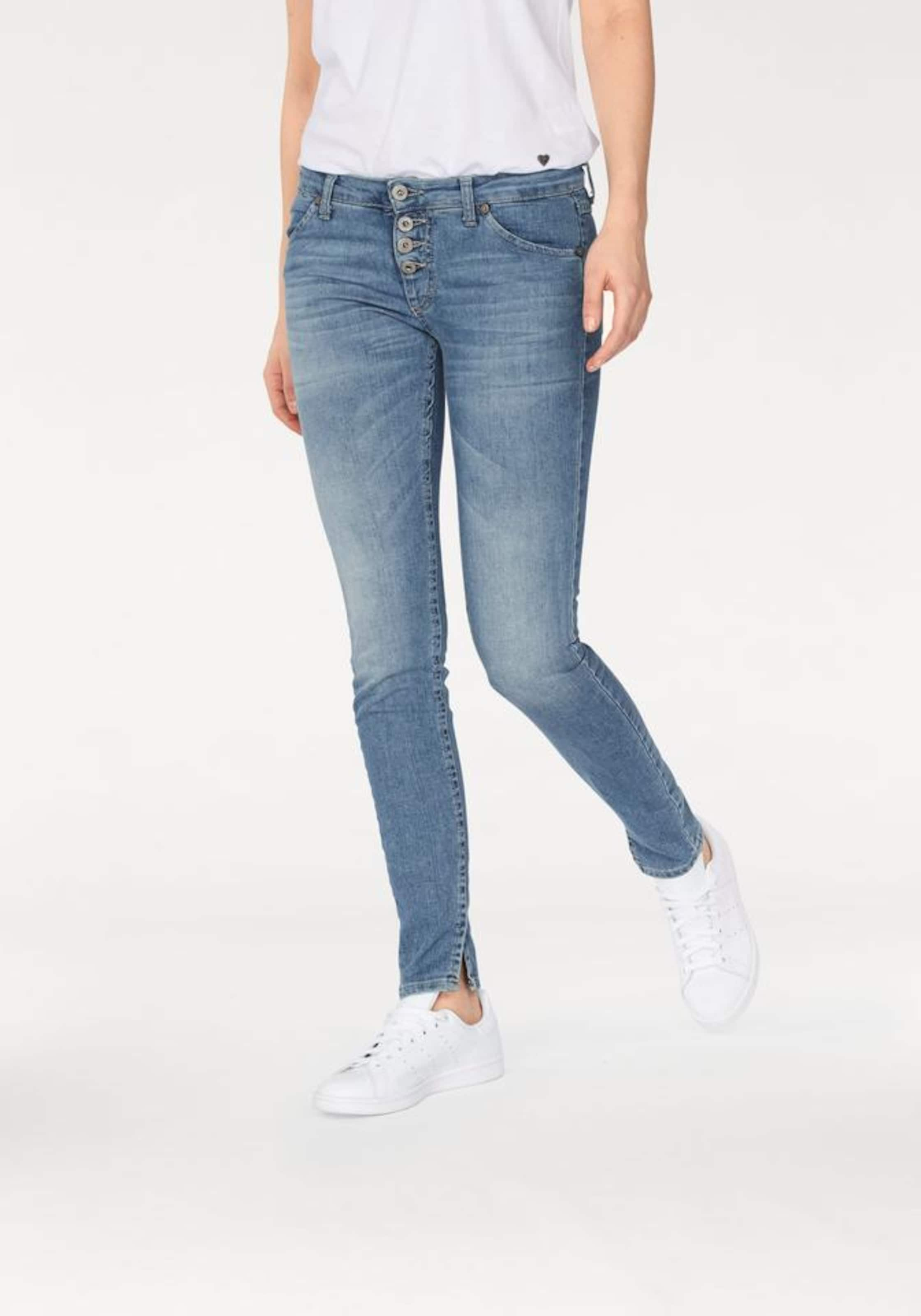 PLEASE 'P90' Skinny-fit-Jeans Auslass Für Billig WNc0lXo5v