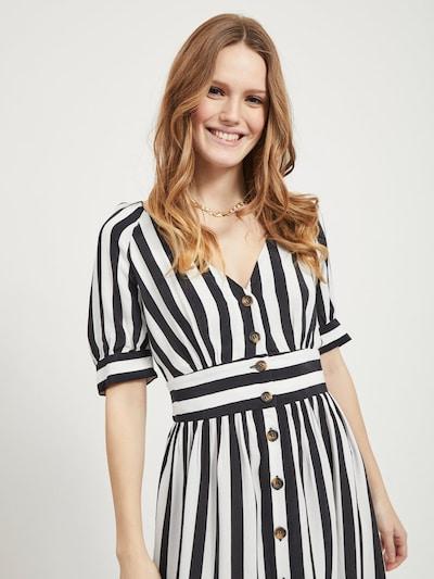 VILA Kleid in schwarz / weiß | ABOUT YOU