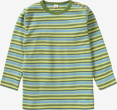 Leela COTTON Langarmshirt in grün / limette / hellgrün, Produktansicht