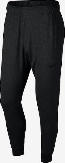 NIKE Sportske hlače 'Dry Hyper Dry' u crna melange, Pregled proizvoda
