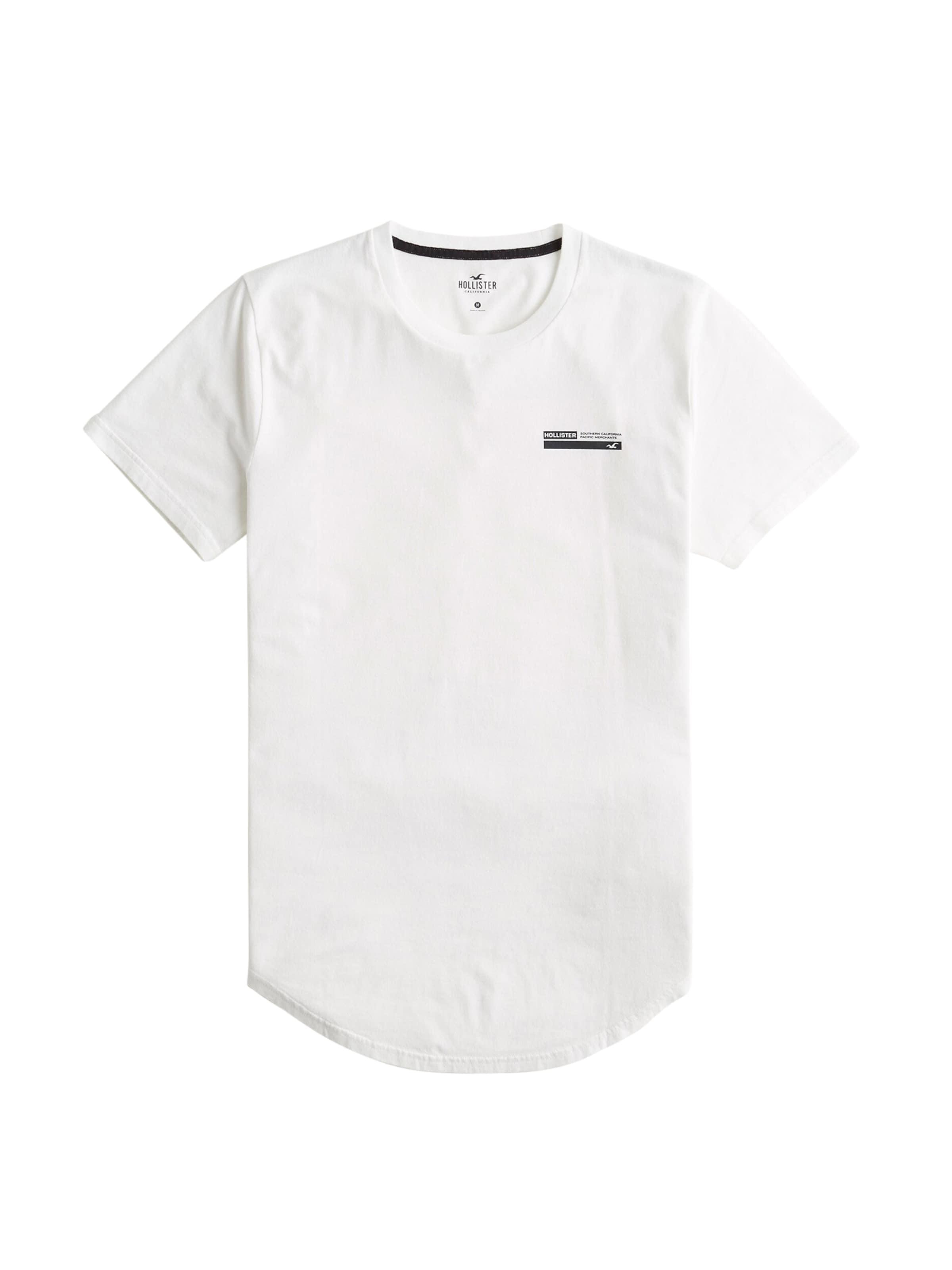 T Hollister T En Hollister Blanc shirt shirt En Blanc tdChQxsr
