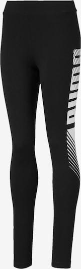 PUMA Leggings 'Alpha' in schwarz / weiß, Produktansicht