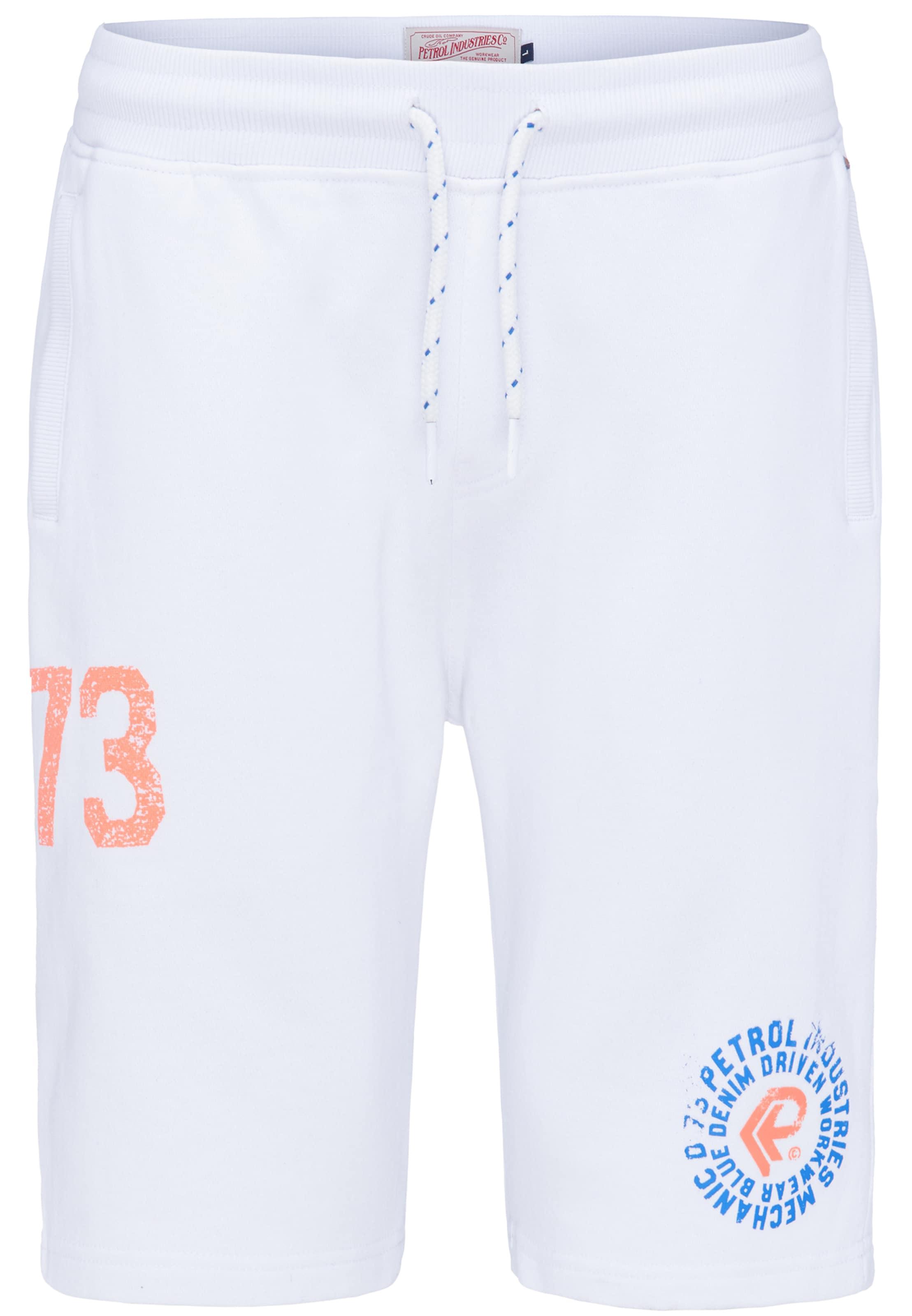Petrol En Industries BleuSaumon Blanc Pantalon Rq3Lj54A
