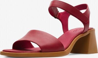 CAMPER Sandalen ' Karolina ' in rot, Produktansicht
