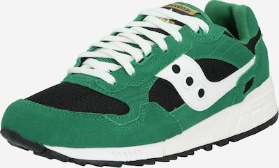 saucony Sneaker 'SHADOW 5000' in grün / schwarz / weiß: Frontalansicht