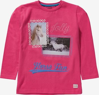 HORKA T-Shirt 'DORY ' in blau / pink / weiß, Produktansicht