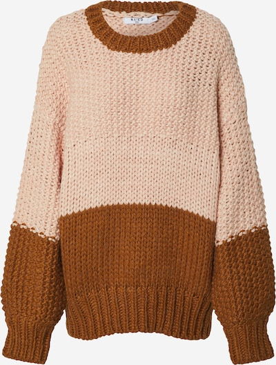 NA-KD Pullover 'two coloured heavy knitted sweater' in rosa, Produktansicht