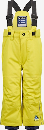 KILLTEC Hose 'Jordiny' in gelb, Produktansicht