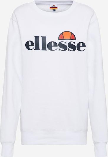 ELLESSE Sweatshirt 'Agata' in weiß, Produktansicht