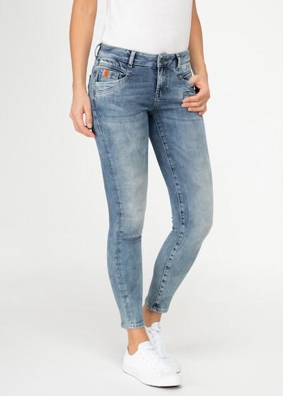 Miracle of Denim Jeans 'Suzy' in blue denim, Modelansicht