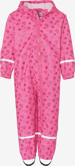 PLAYSHOES Regenoverall in pink: Frontalansicht
