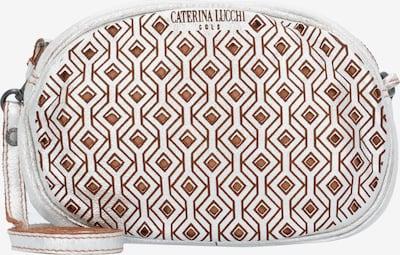 Caterina Lucchi Umhängetasche in braun / silber, Produktansicht