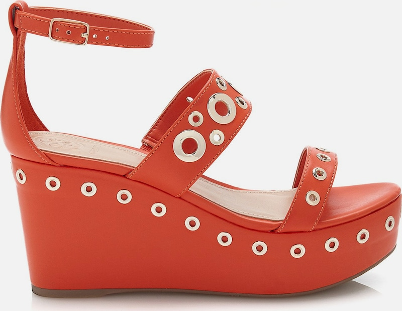 GUESS Plateausandale NIOMI Verschleißfeste billige Schuhe