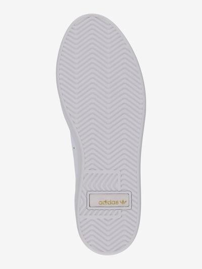 ADIDAS ORIGINALS Trampki niskie 'Sleek' w kolorze białym: Widok od dołu