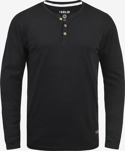 !Solid Shirt 'Volko' in schwarz, Produktansicht