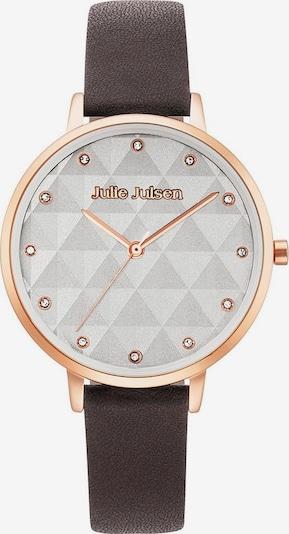 Julie Julsen Quarzuhr in kastanienbraun / rosegold / weiß, Produktansicht