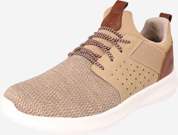 SKECHERS Sneaker 'Delson Camben' in Braun