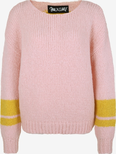 PAUL X CLAIRE Strickpullover 'Oversize 2' in pink, Produktansicht