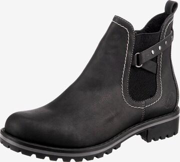JANE KLAIN Boots in Schwarz