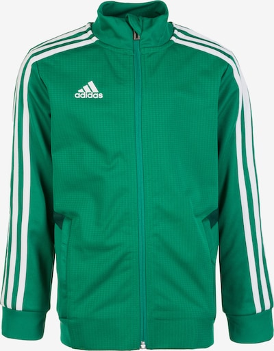 ADIDAS PERFORMANCE Trainingsjacke 'Tiro 19' in grün / weiß, Produktansicht