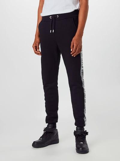 ALPHA INDUSTRIES Pantalon en noir: Vue de face