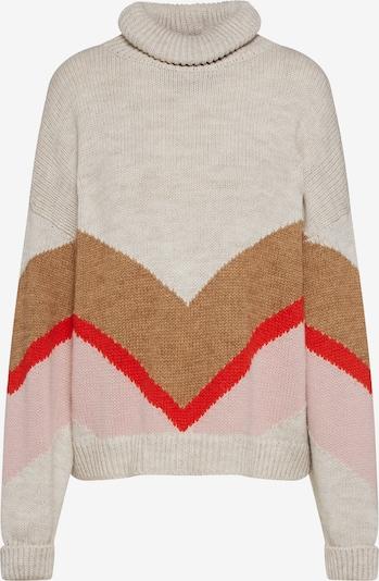 EDITED Pullover 'Jake' in camel / hellbeige / rosa, Produktansicht