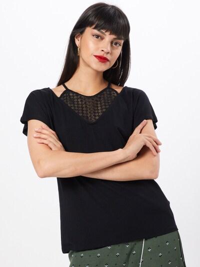 ABOUT YOU Koszulka 'Lieven' w kolorze czarnym: Widok z przodu